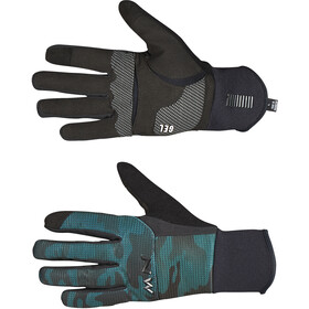 Northwave Power 3 Full Gloves black/green forest